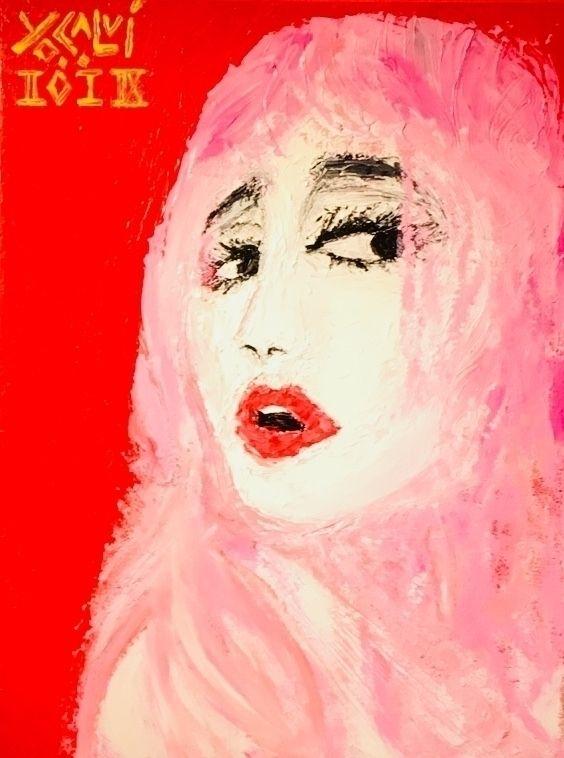 Bella March 2018 Acrylic canvas - yocalvi | ello