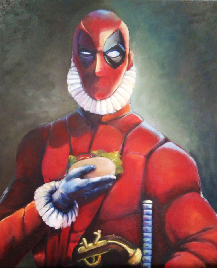 Deadpool El Greco: nobleman tac - juliusllopis | ello