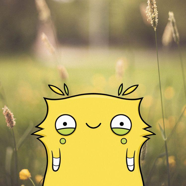 Happy Sunday - illustration, unsplash - stinajones | ello