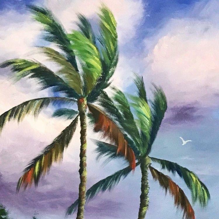 "Detail latest paintings, ""Trade - marisadirstine   ello"