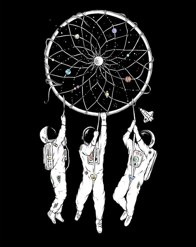 Dreams - illustration - normanduenas | ello