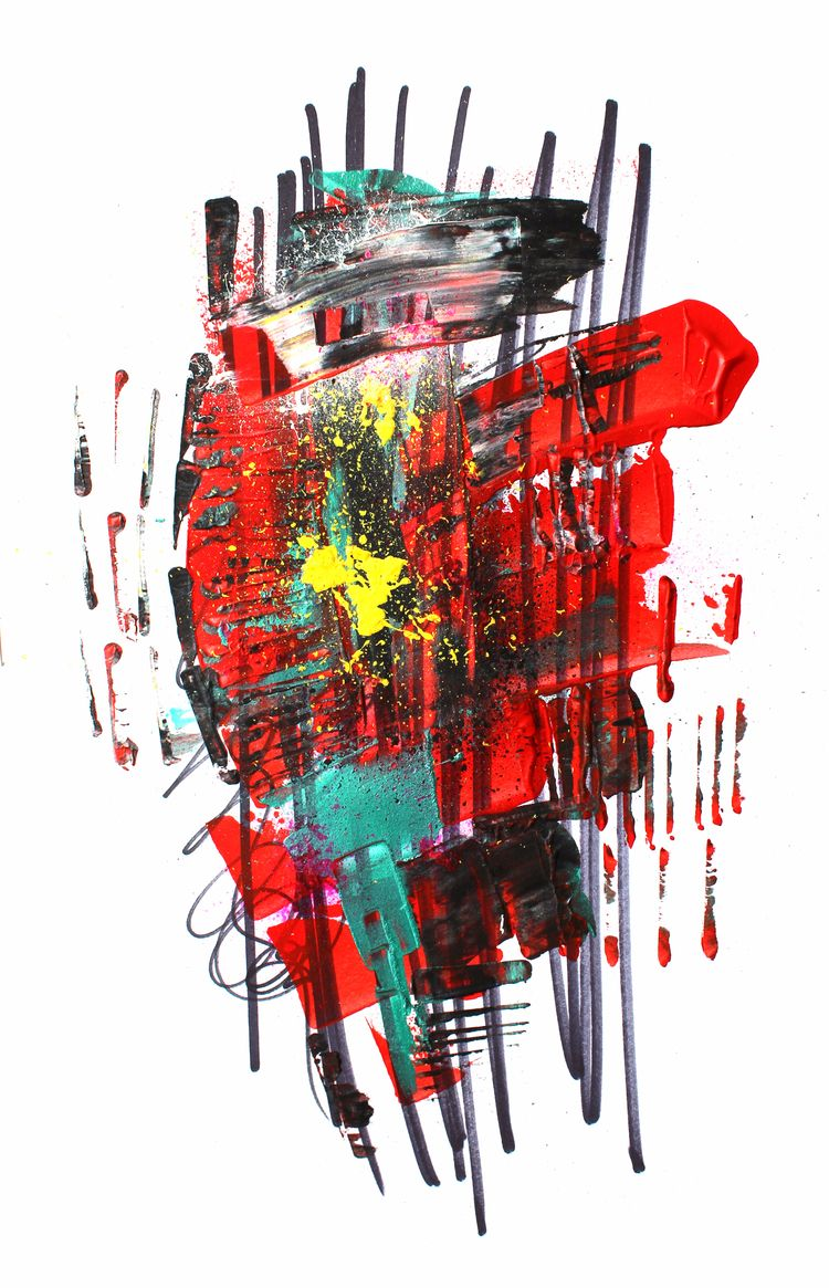 Odette Acrylic paper, Size: 16 - gatomontaner | ello