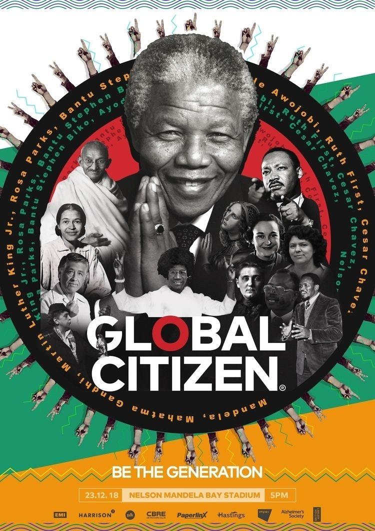 creative poster Global Citizen  - beshoyshenouda | ello
