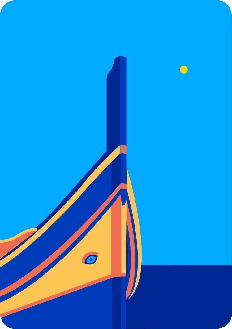 valletta, malta, illustration - julia_azz   ello