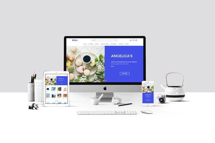 web, deal, UI, UX, interface - julia_azz | ello