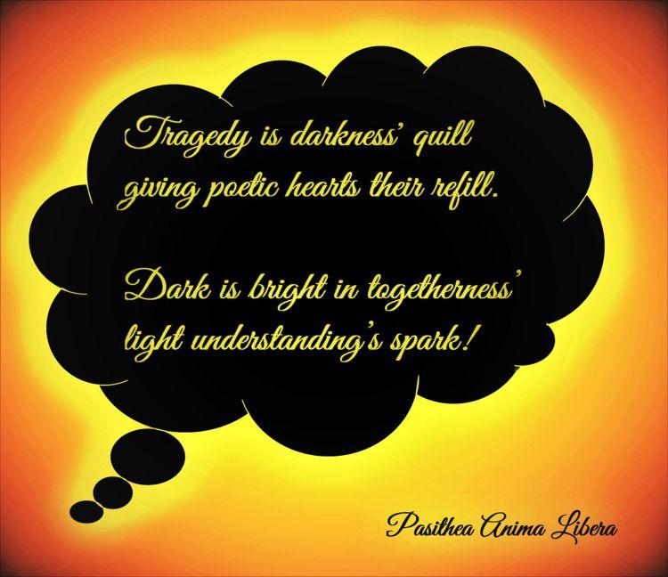 Spark dark paths crossed screen - pasitheaanimalibera | ello