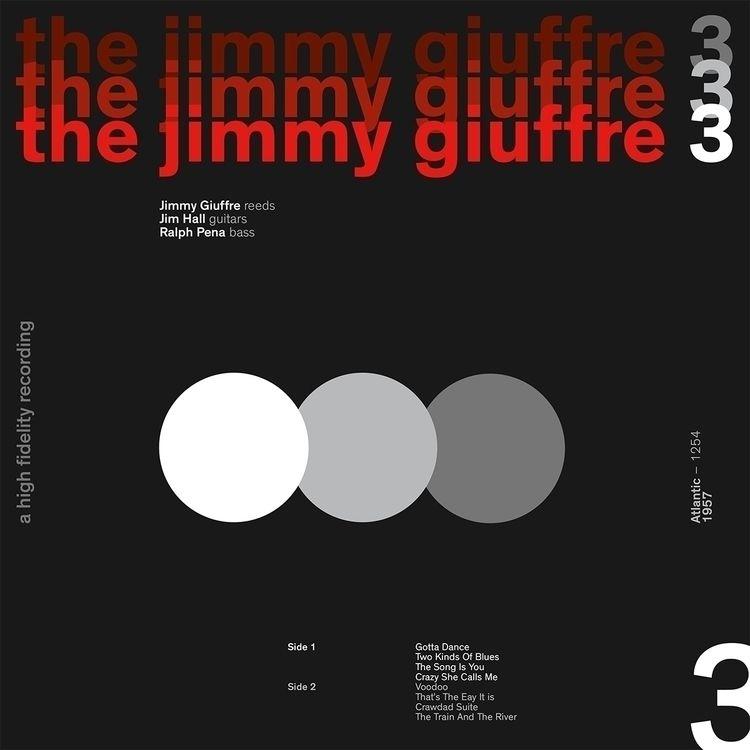 Jimmy Giuffre 3 album cover des - plackner | ello