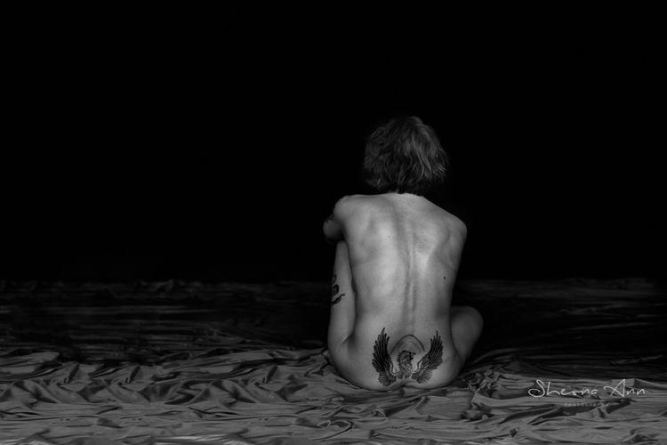 Waiting - monochrome, yoga, photography - sheona-ann | ello