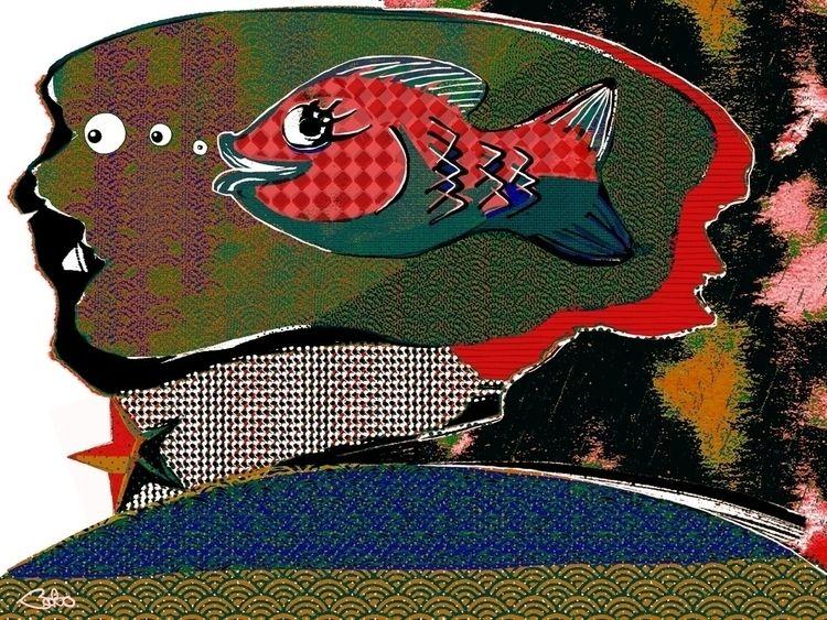 goldfisheadream, goldfish, fish - bobogolem_soylent-greenberg | ello