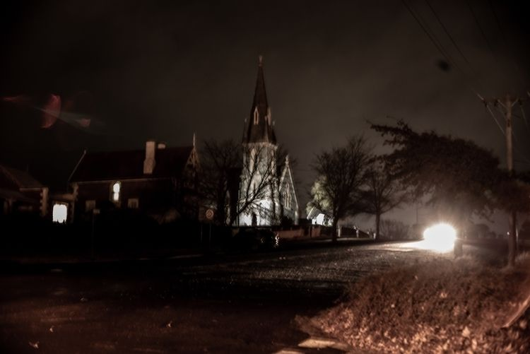 Night church, Cooma NSW - night - josim1100 | ello