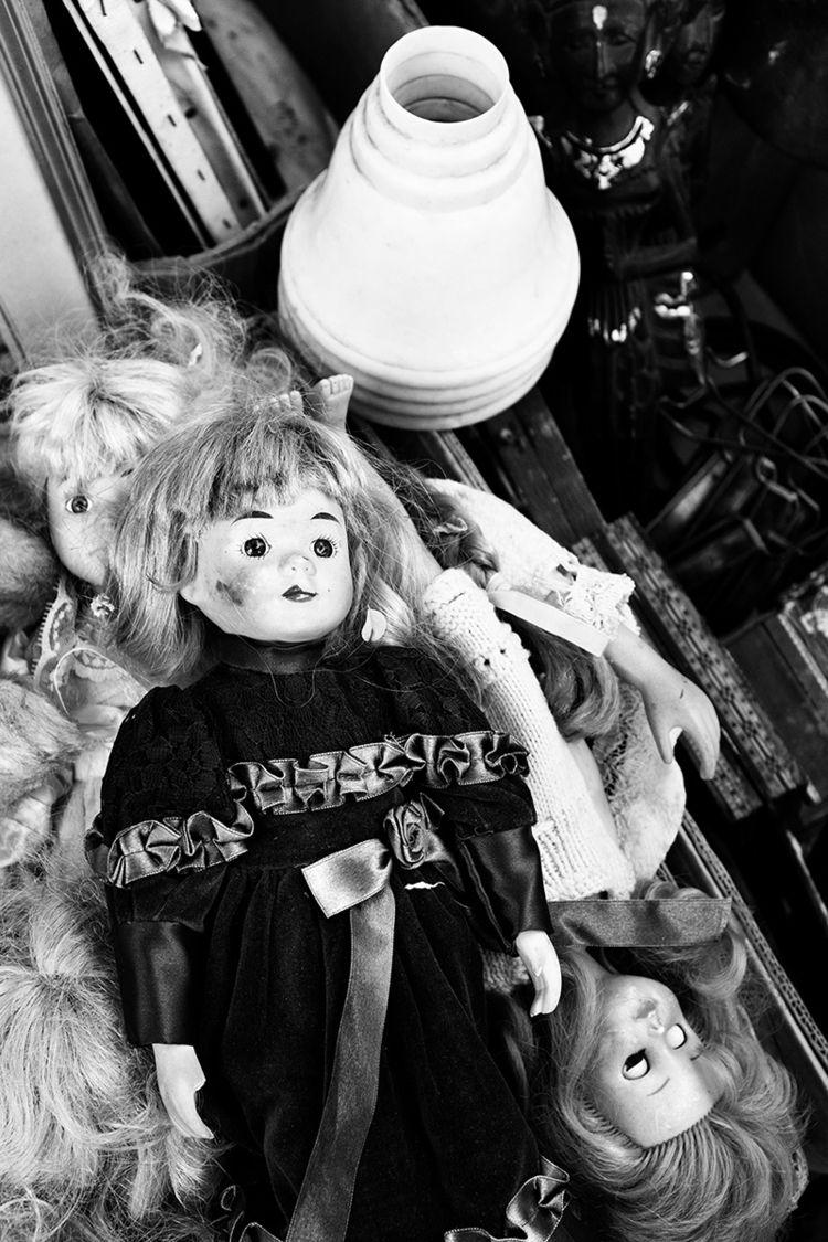 photography, blackandwhite, doll - lorseau | ello