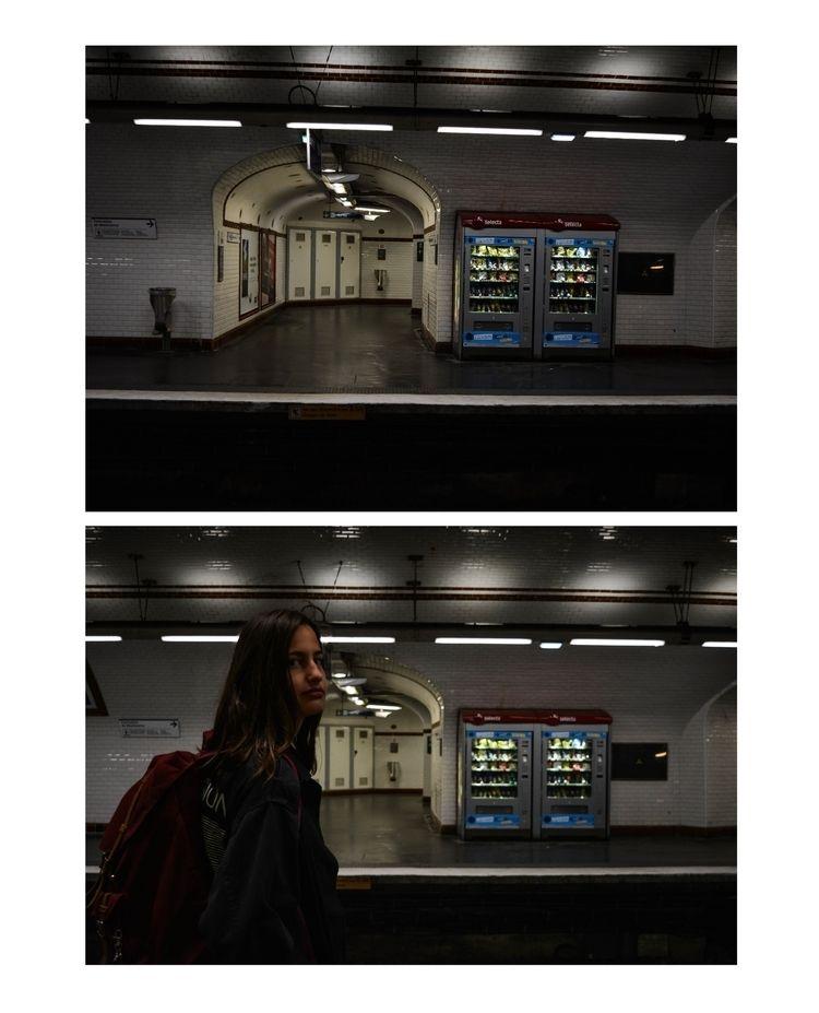 Underground Paris - girl, portrait - glauke_w_ | ello