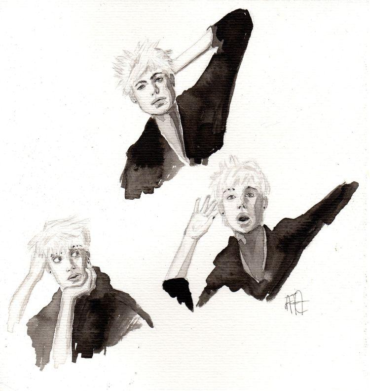 Studying human face expressions - nataliadamiao | ello