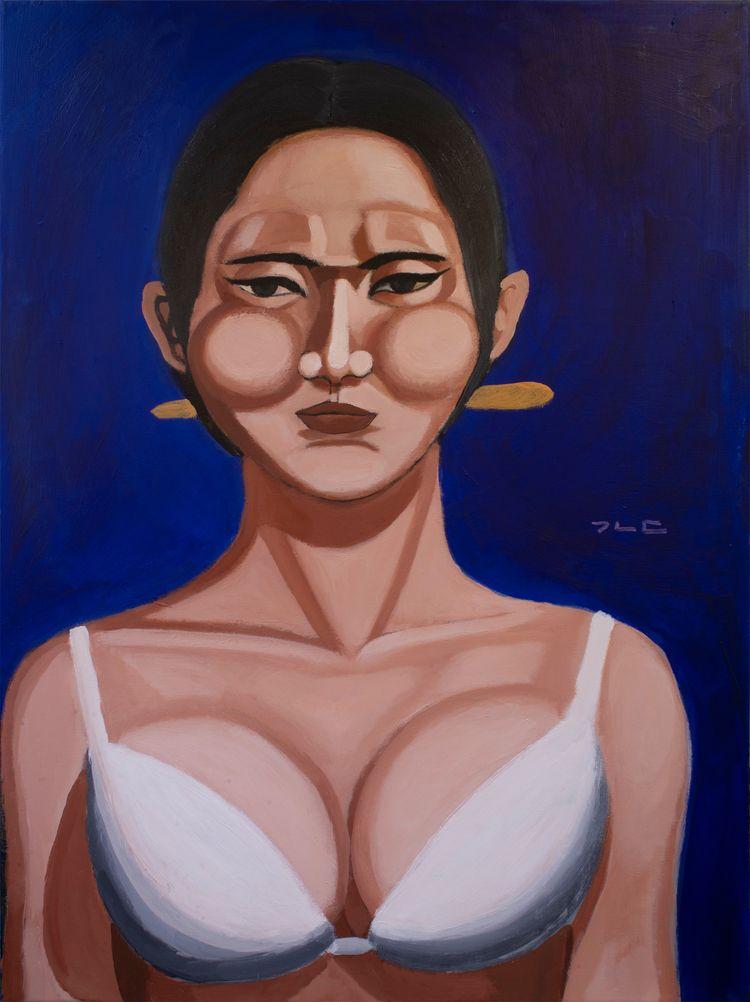 Northern Beauty Acrylic canvas - chunbumpark | ello