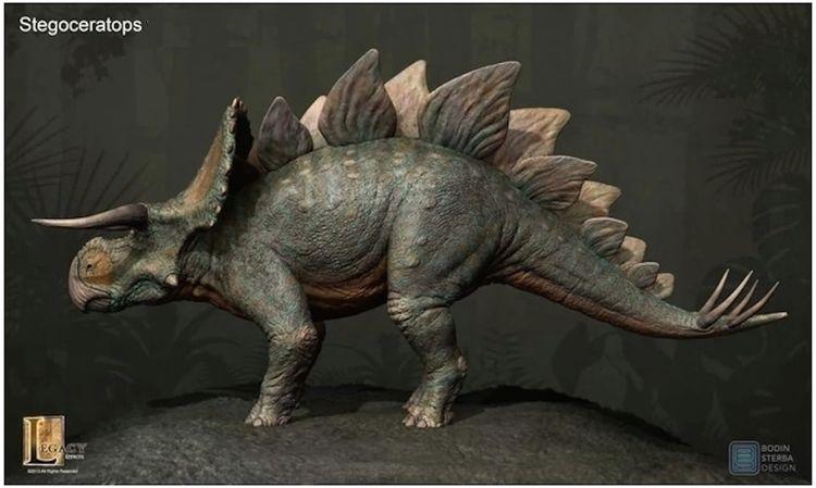 Stegoceratops. chimera Tricerat - ccruzme | ello