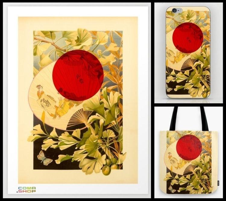 Print Japan garden culture coll - schildwaechter | ello