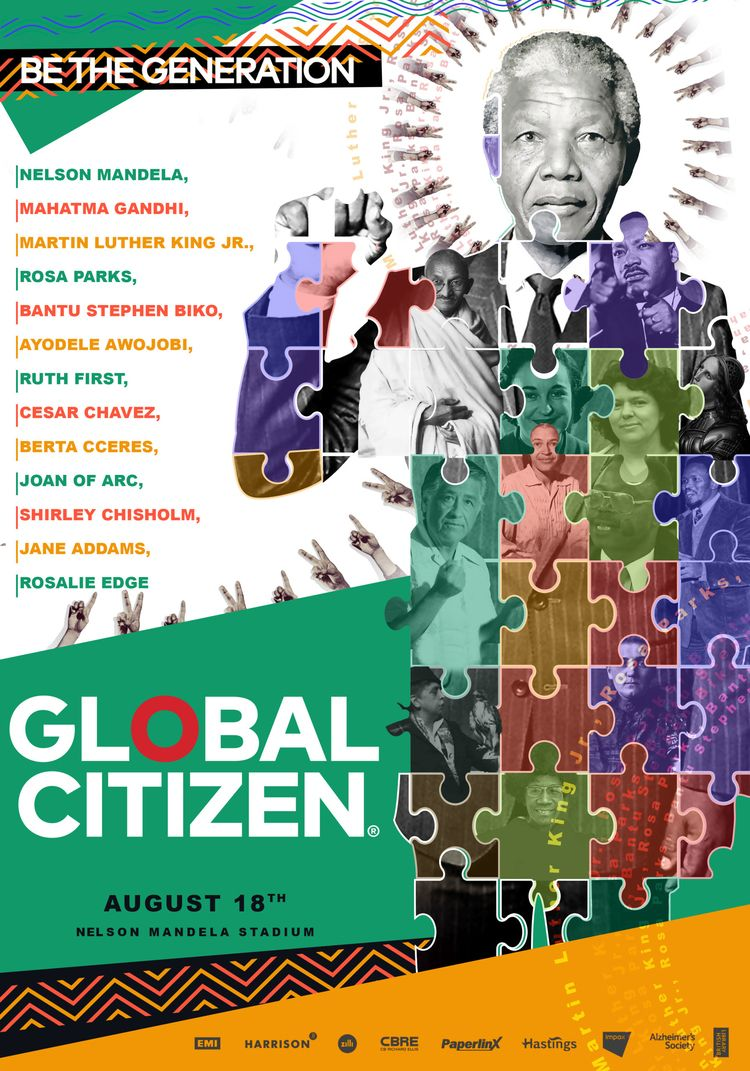 creative poster Global Citizen  - beshoyshenouda | ello