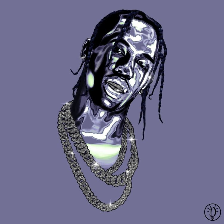 Travis $cott. (2018) Digital pa - dliiight | ello