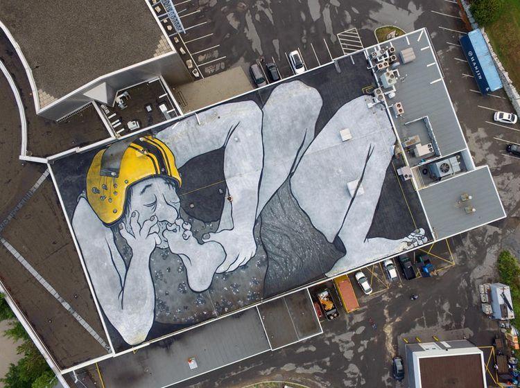 Les géants magnifiques Pitr - streetart - benim_jbweb | ello