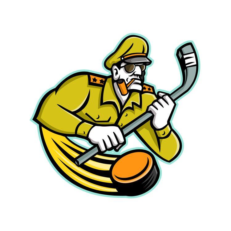 Army General Ice Hockey Sports  - patrimonio | ello