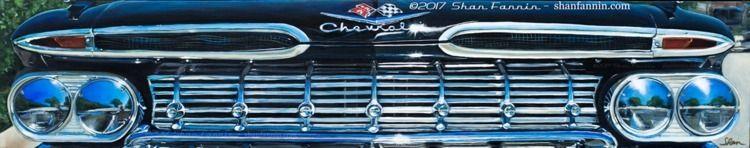 1959 Chevrolet Impala, 12x60x1 - shanfannin | ello