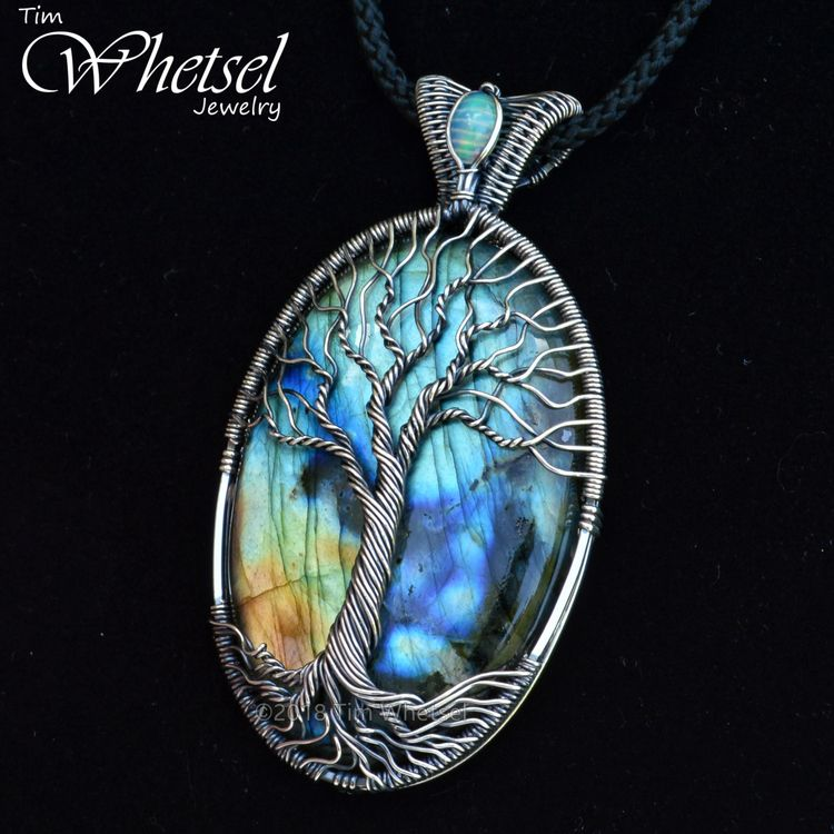 Wire Wrapped Tree of Life Jewelry by Tim Whetsel (@tdwjewely)   Ello