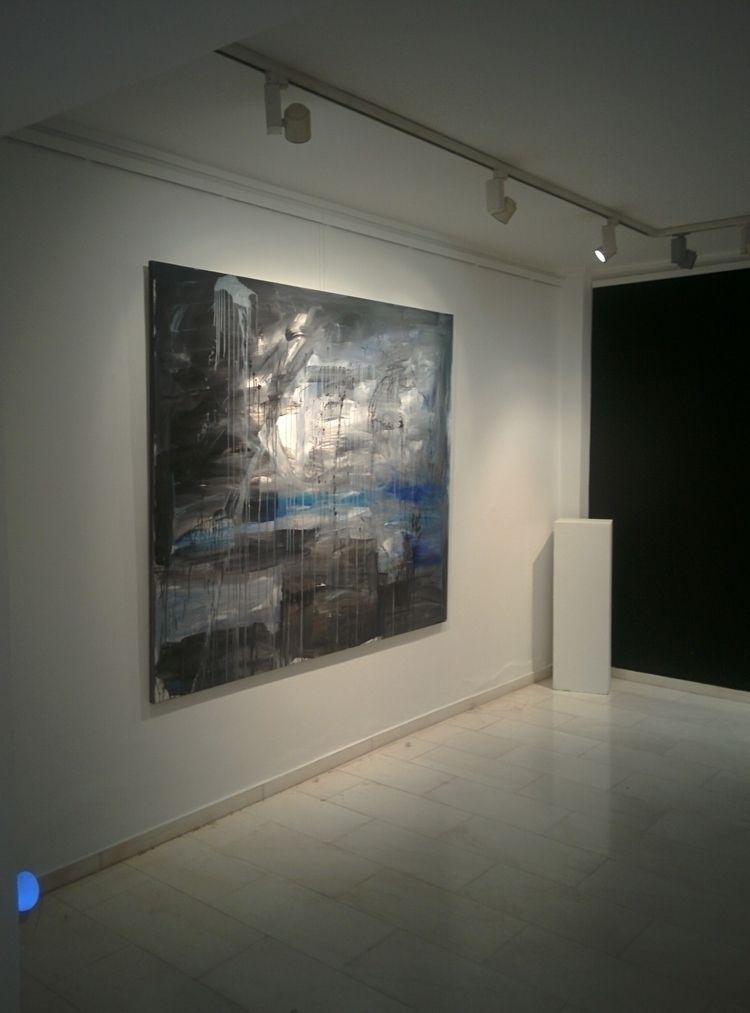 cross 1,7x2m - acrylics, canvas#landscape - jotzomakas   ello