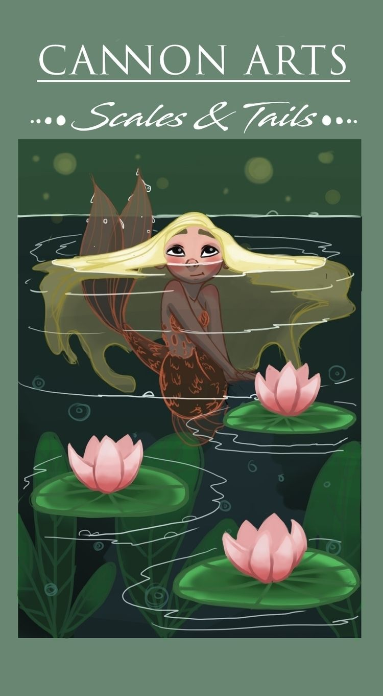 mermaid, illustration, character - symonec27 | ello