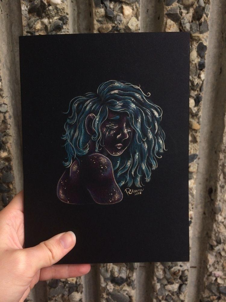 Handmade sketchbook commission  - skeenep | ello