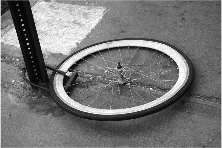 Bike Wheel Anti-Theft Device - streetphotography - michaelfinder | ello