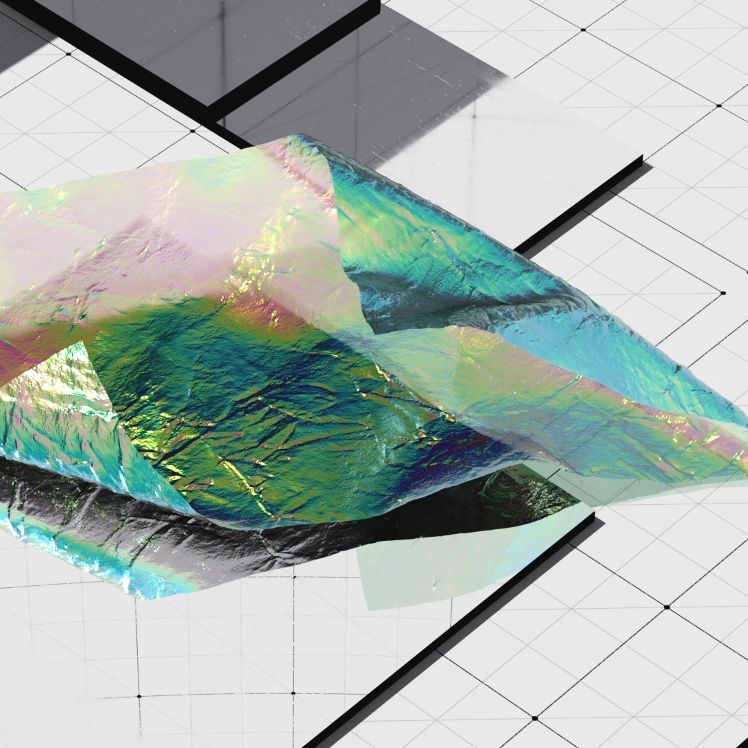 Foil_Grid - Foil, Grid, Float, Iridescence - aaaronkaufman | ello