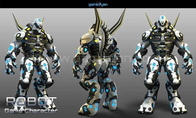 3D Robot Warrior games characte - gameyan | ello