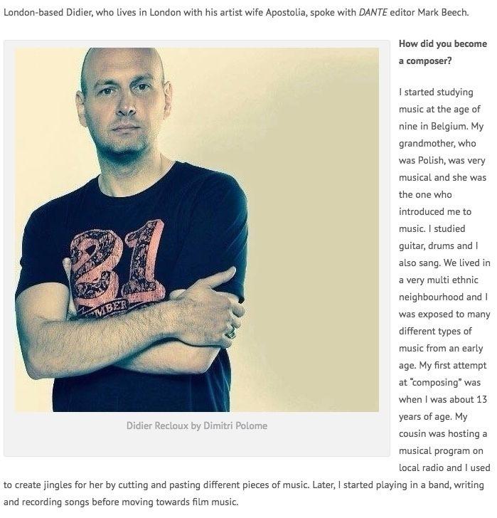 interview author journalist Mar - didier_recloux | ello