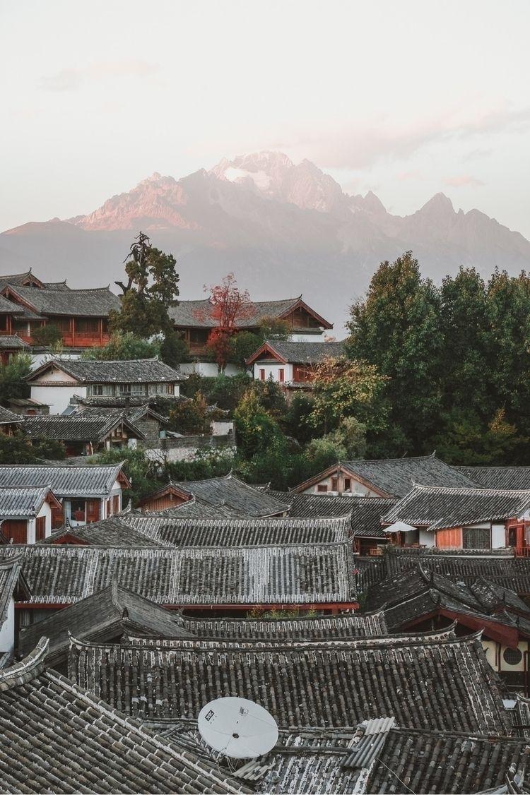 Rooftops Lijiang, China - rooftops - jordnjames | ello