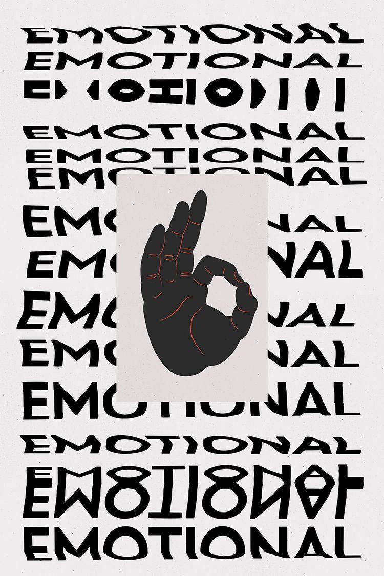 Emotional. Digital illustration - djaheda | ello