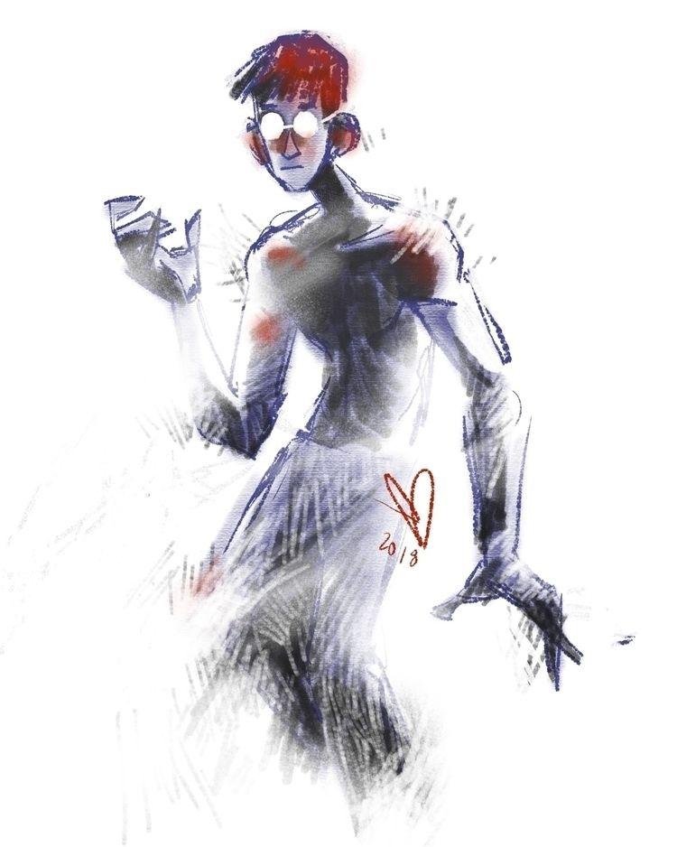 Lost Dark - character, digitalart - evandileo | ello