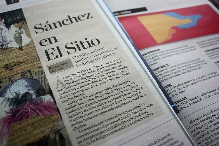 review exhibition elPeriódico 1 - sanchezisdead | ello