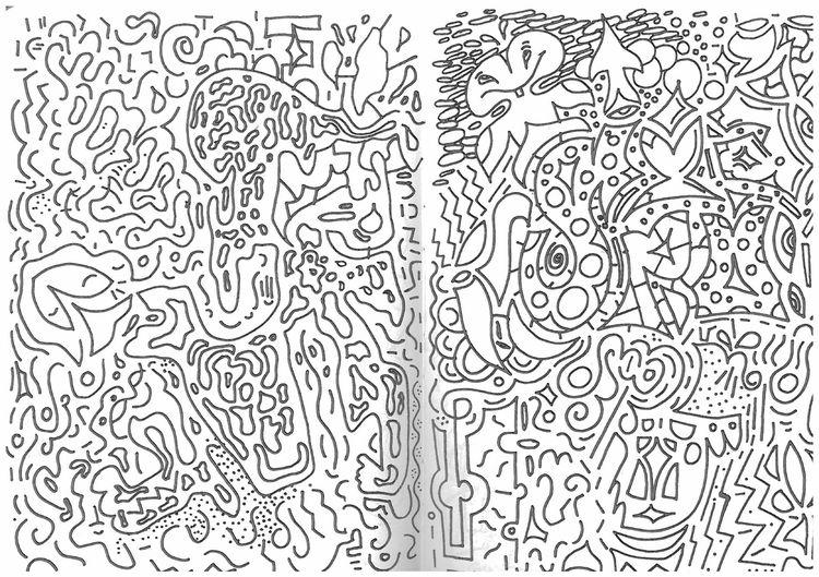 moleskine trip - drawing, ello, trippy - dongiapo | ello