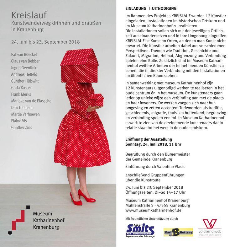 Invitation exhibition Kreislauf - gudakoster | ello