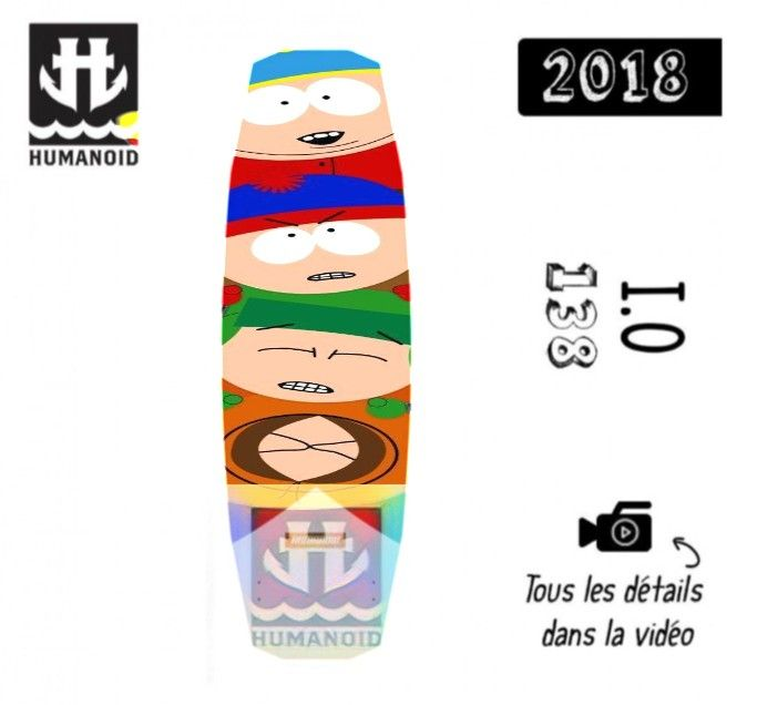 South Park Humanoid Wake boards - stashism | ello