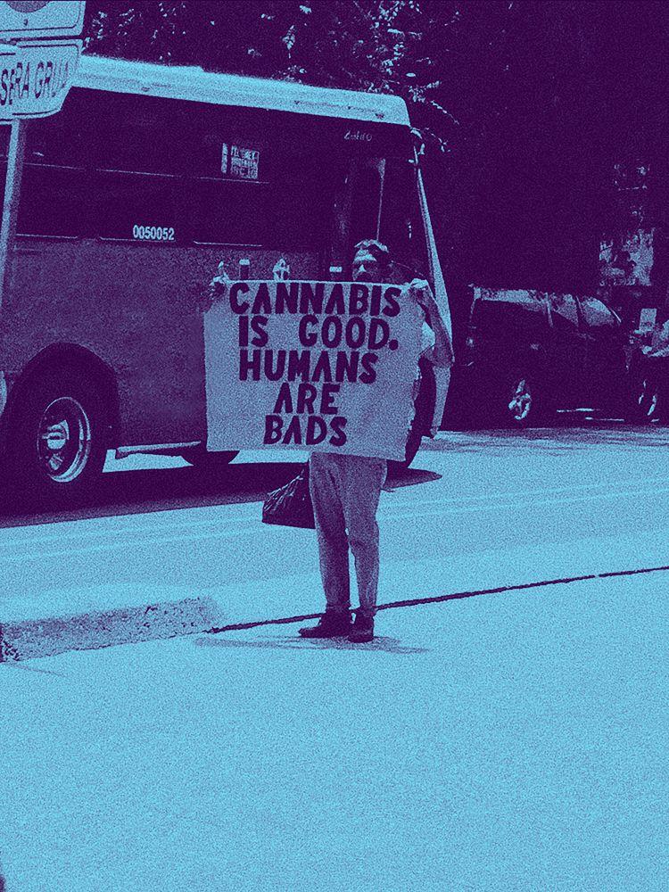Humans bads (2017 - duotones, purple - montcarver | ello
