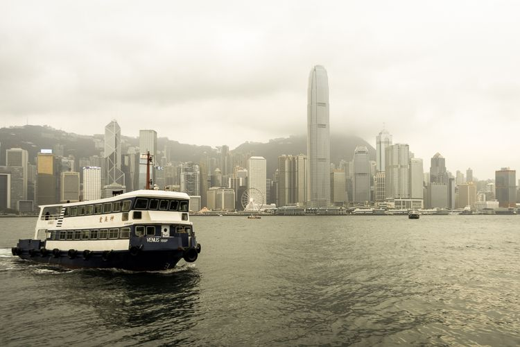 Ferry, Hong Kong Words Image: G - garylight | ello
