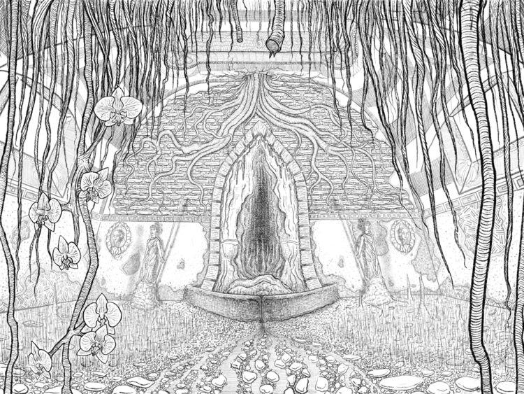 Forgotten Temple Gaia. Inspired - soper   ello