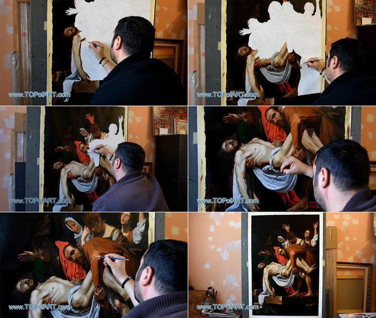 Caravaggio - Entombment Paintin - topofart | ello