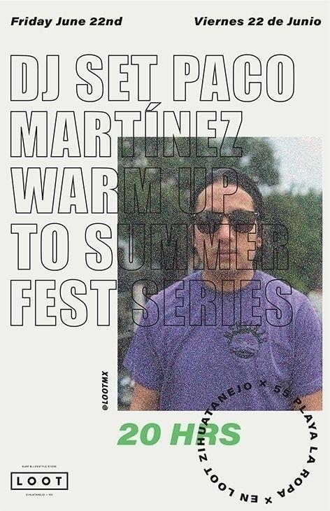 Paco Martínez LOOT Friday | - posterdesign - axregehr | ello