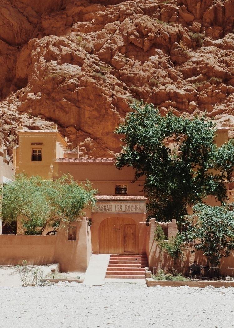 Morocco, kasbah, roches, building - lapremioqueen | ello
