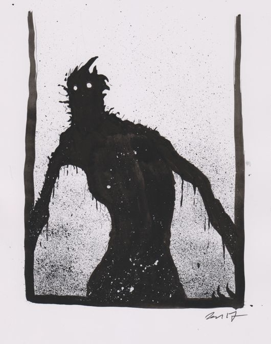 Ancient Dark 20 - blackandwhite - dansmonsters | ello