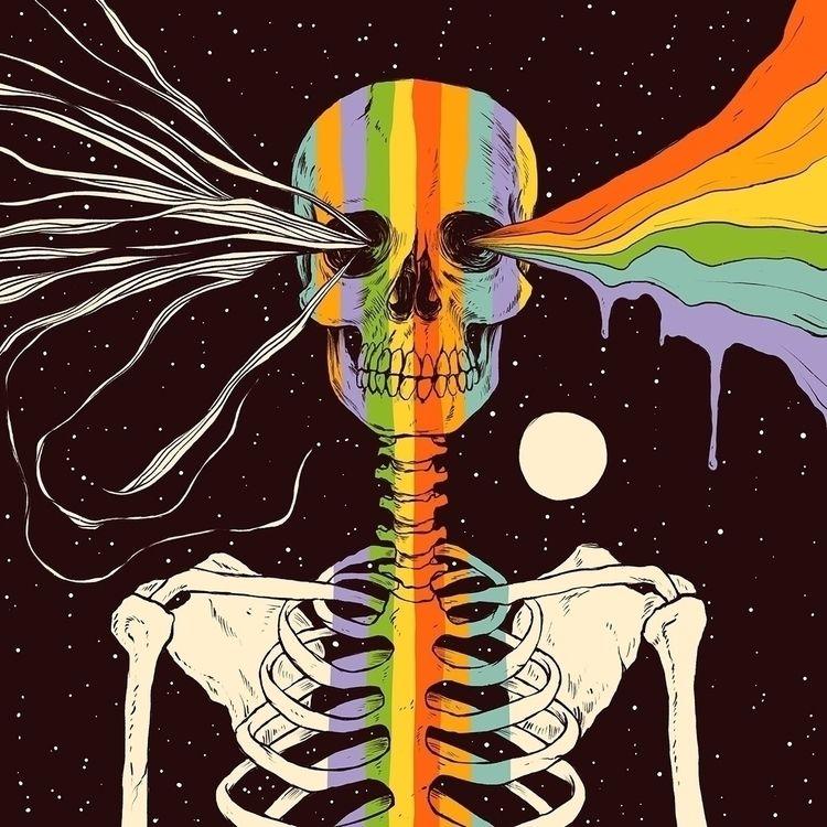 Dark Side Existence - illustration - normanduenas | ello
