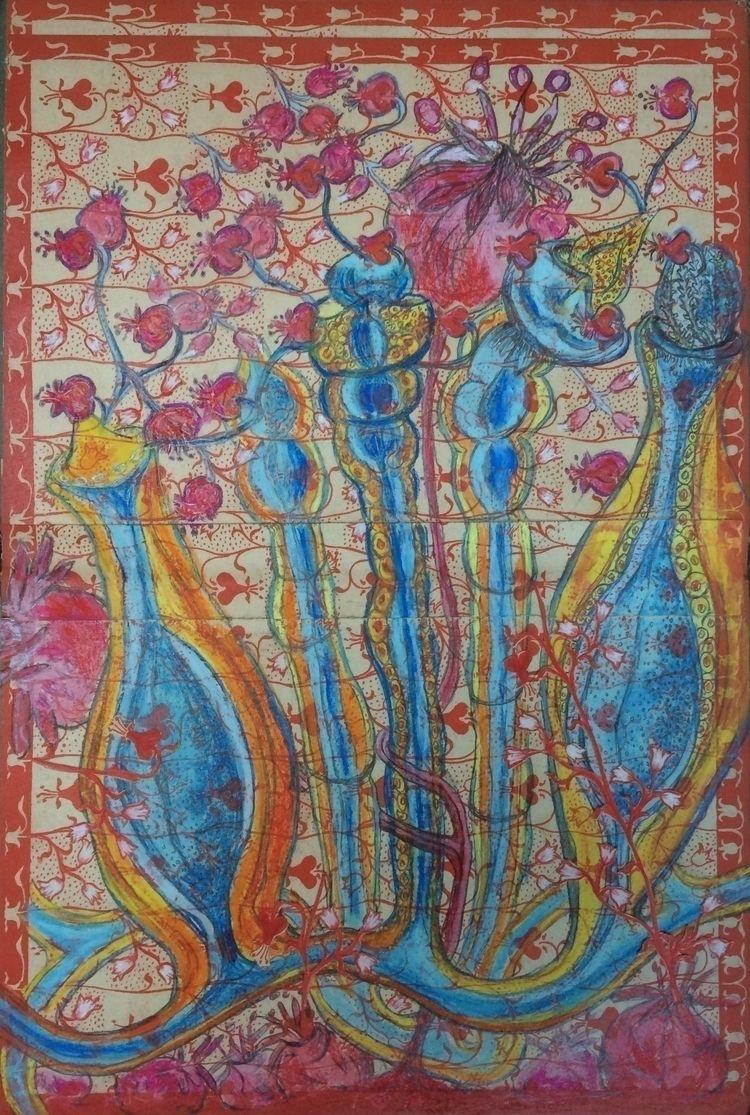 Pastel flyleaf book, 38,5x26 cm - susanaml | ello