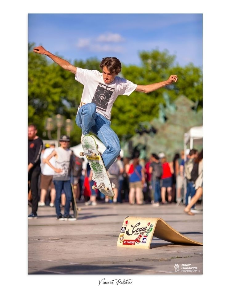 Ride, jump, repeat - skaters, skateboarding - funkyporcupine | ello